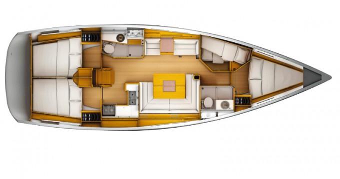 Jeanneau Sun Odyssey 449 te huur van particulier of professional in Nieuwpoort