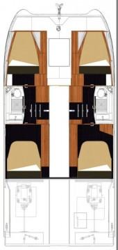 Verhuur Catamaran in Biograd na Moru - Fountaine Pajot My 37