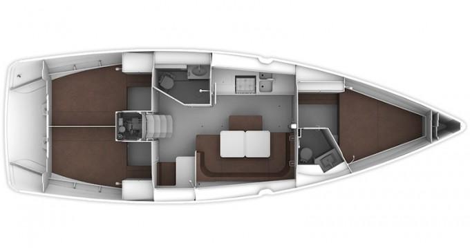 Bootverhuur Gouviá goedkoop Bavaria 41 Cruiser