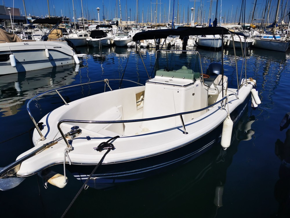 Verhuur Motorboot in Marseille - White Shark White Shark 205