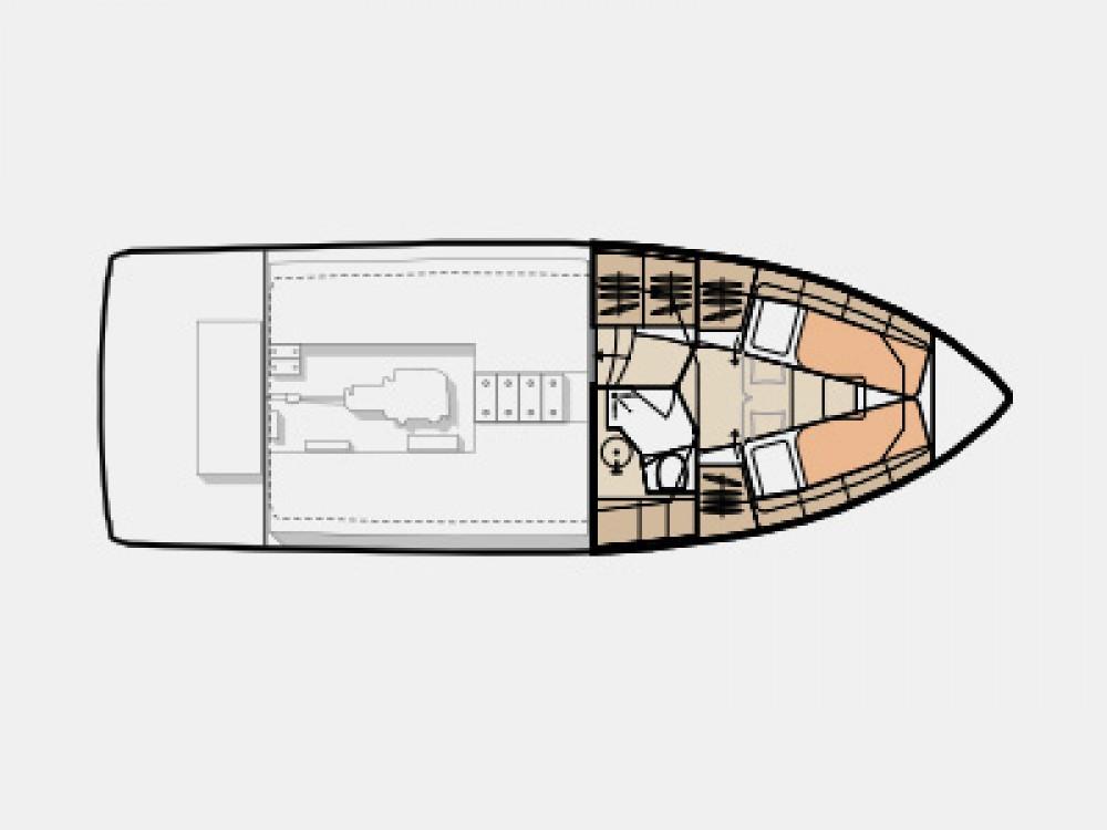 Verhuur Motorboot Seaway met vaarbewijs