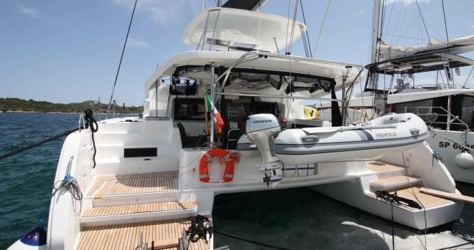 Huur Catamaran met of zonder schipper Lagoon in Portisco