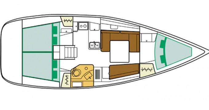 Verhuur Zeilboot in Athene - Bénéteau Oceanis 37