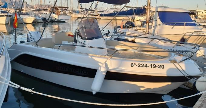 Verhuur Motorboot in Altea - Marinello Fisherman 16