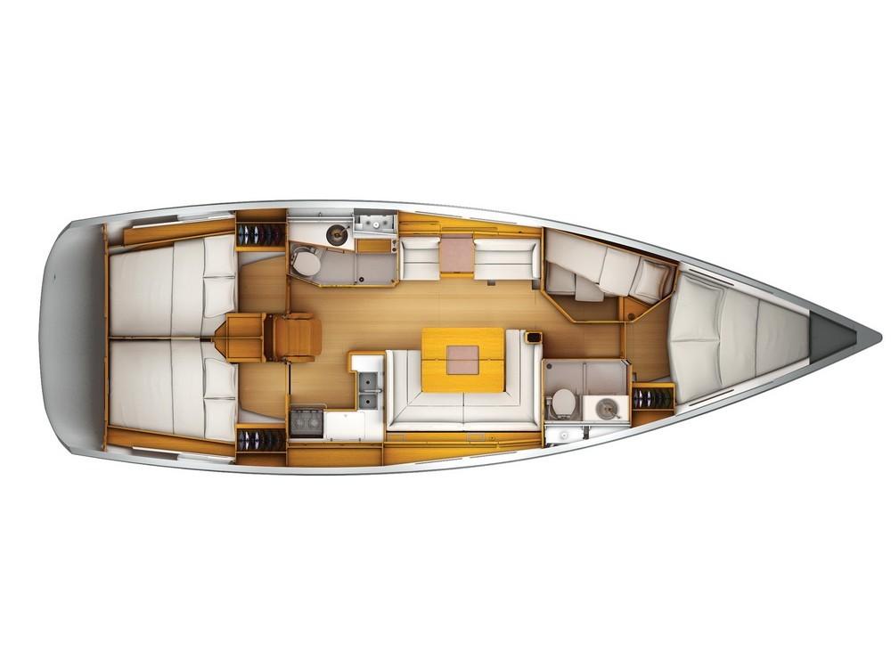 Verhuur Zeilboot in Kaštel Gomilica - Jeanneau Sun Odyssey 449