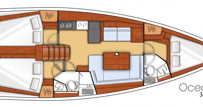 Bénéteau Oceanis 41.1 te huur van particulier of professional in Lefkada (Island)