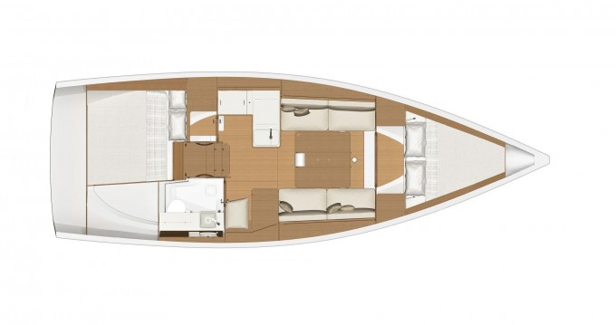 Verhuur Zeilboot in Porto di Balestrate - Dufour Dufour 360 Grand Large