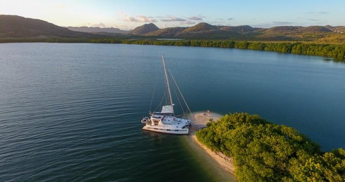 Huur Catamaran met of zonder schipper Dean in Les Trois-Îlets