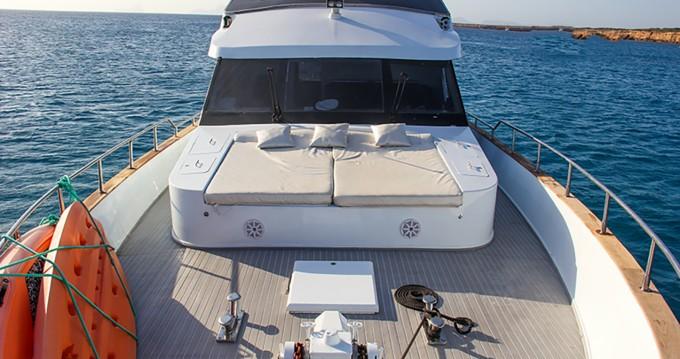 Bootverhuur Ibiza Island goedkoop Baglietto 24