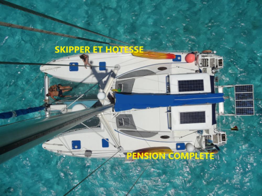 Huur een Catana Catana 411 in Le Marin
