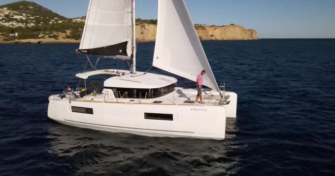 Huur Catamaran met of zonder schipper Lagoon in Ibiza Town
