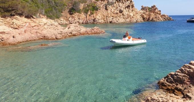 Motonautica-Vesuviana 18 technology te huur van particulier of professional in Olbia