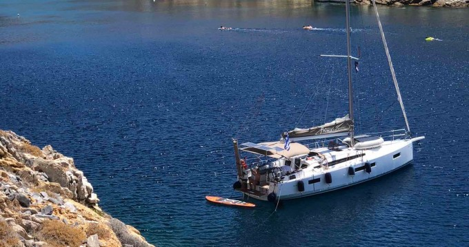 Jachthuur in Athene - Jeanneau Sun Odyssey 410 ( INVENTER)  via SamBoat