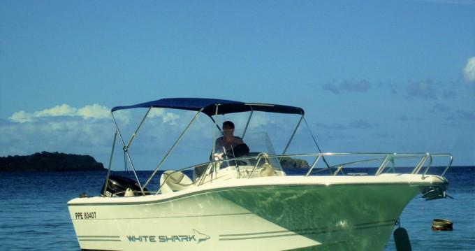 Verhuur Motorboot in Basse-Terre - Kelt White shark 226
