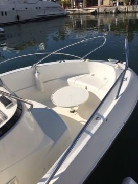 Verhuur Motorboot in Mandelieu-la-Napoule - Quicksilver Quicksilver 555 Commander