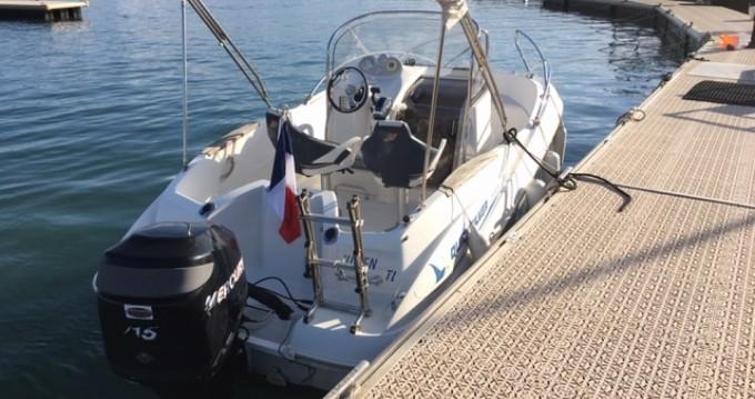 Huur Motorboot met of zonder schipper Quicksilver in Mandelieu-la-Napoule