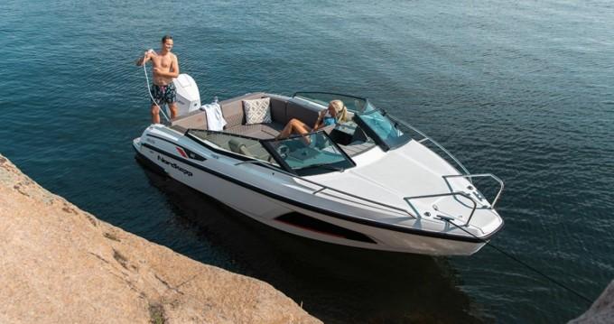 Verhuur Motorboot Nordkapp met vaarbewijs