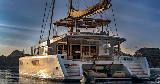 Verhuur Catamaran in Mykonos (Island) - Lagoon Lagoon 52 F