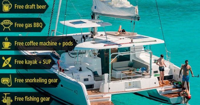 Catamaran te huur in Portoferraio voor de beste prijs