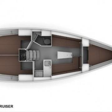 Verhuur Zeilboot in Biograd na Moru - Bavaria Cruiser 34