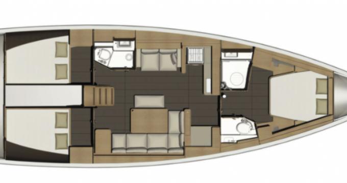 Bootverhuur Port Grimaud goedkoop Dufour 450