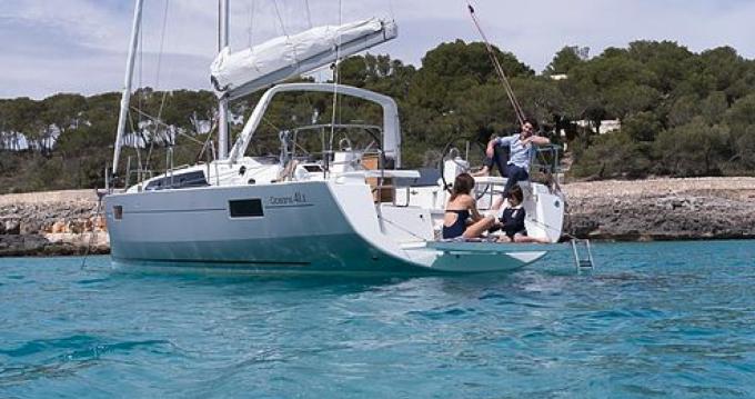 Verhuur Zeilboot Oceanis met vaarbewijs