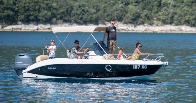Bootverhuur Sessa Marine Key Largo 20 Deck in Rabac via SamBoat