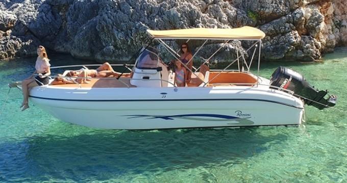 Verhuur Motorboot in Tsilivi - Ranieri Shadow 23