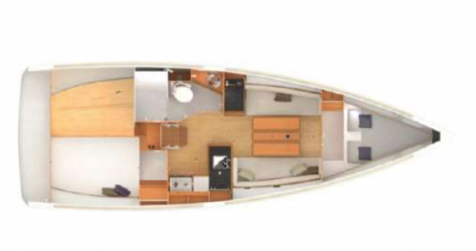 Bootverhuur Jeanneau Sun Odyssey 349 in Golfe-Juan via SamBoat