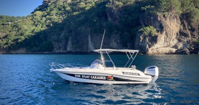 Verhuur Motorboot in Les Trois Îlets - Lobster marion 7,3