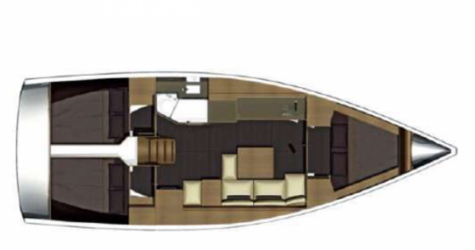 Jachthuur in Golfe-Juan - Dufour Dufour 382 via SamBoat