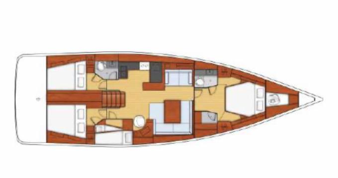 Huur Zeilboot met of zonder schipper Oceanis in Golfe-Juan