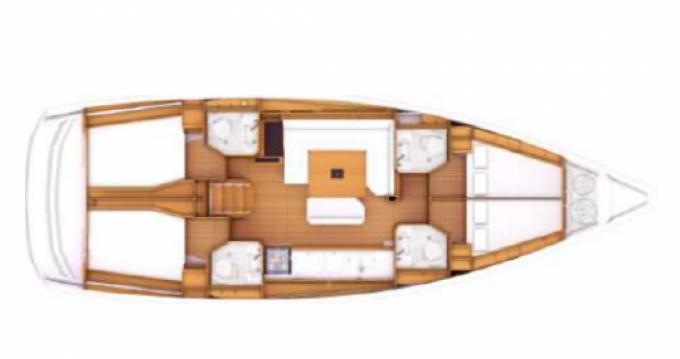 Jachthuur in Golfe-Juan - Jeanneau Sun Odyssey 469 via SamBoat