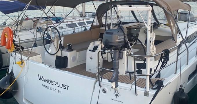 Verhuur Zeilboot in Álimos - Jeanneau Sun Odyssey 490
