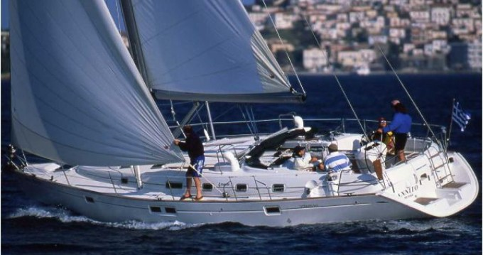 Bénéteau Oceanis 46 te huur van particulier of professional in Lefkas Egremni