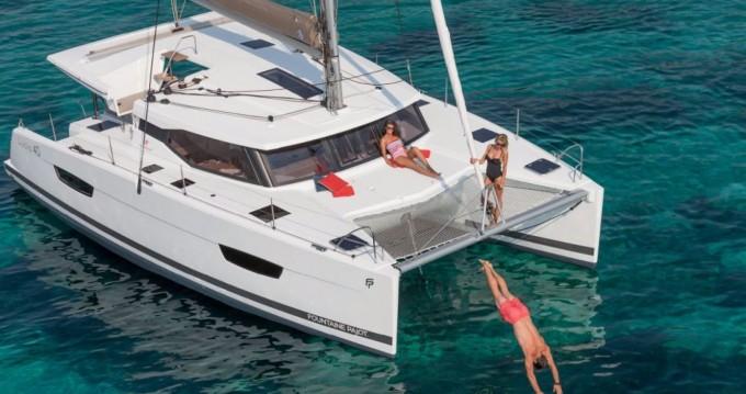 Verhuur Catamaran in Saint Thomas - Fountaine Pajot Lucia 40