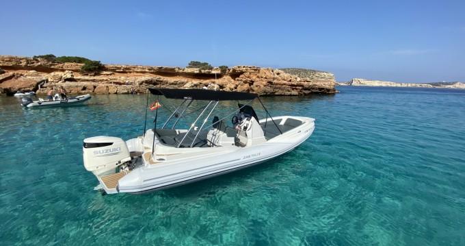 Huur Rubberboot met of zonder schipper Zar in Sant Antoni de Portmany
