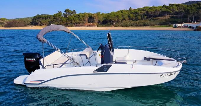 Motorboot te huur in Palamós voor de beste prijs