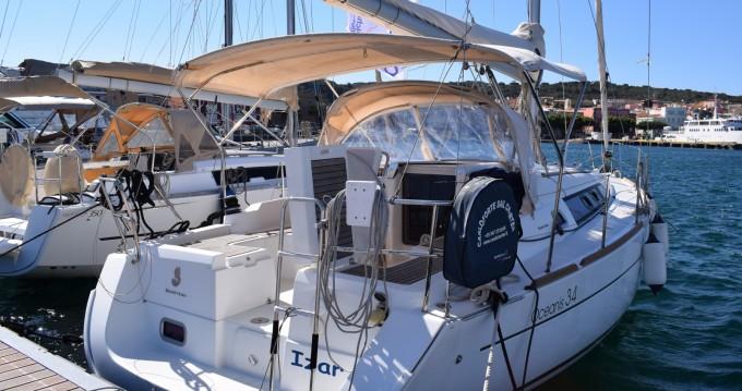 Bootverhuur Cagliari goedkoop Oceanis 34