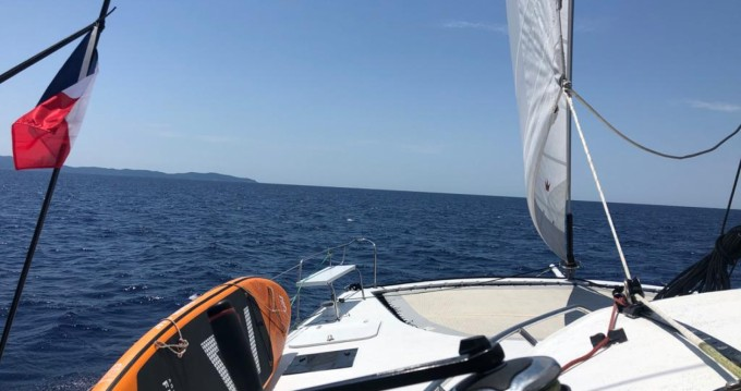 Verhuur Catamaran in Ajaccio - Legend LEGEND 435 Lerouge
