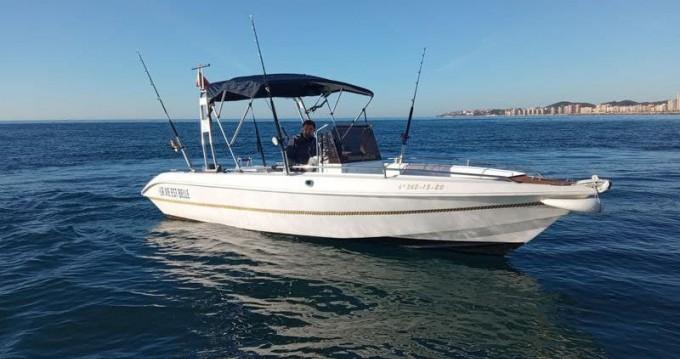 Huur Motorboot met of zonder schipper Dipol in Puerto Deportivo de Fuengirola