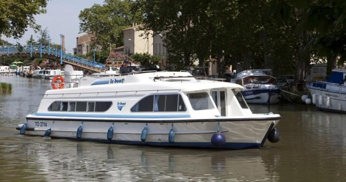 Huur Woonboot met of zonder schipper Calypso in Jarnac