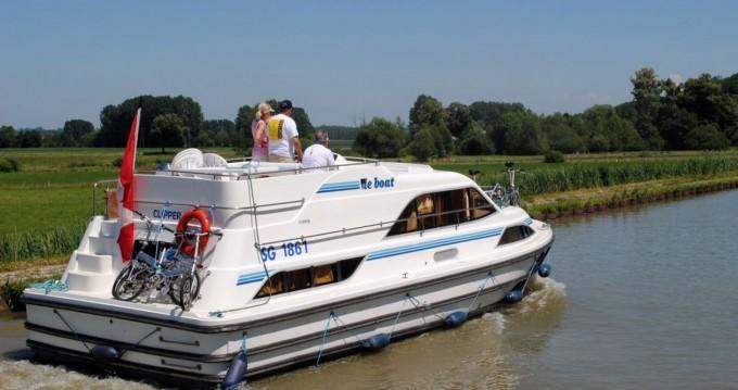 Huur Woonboot met of zonder schipper Clipper in Douelle
