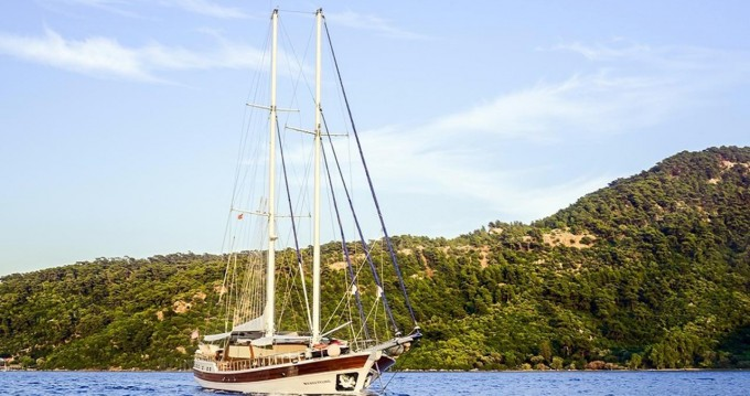Huur Zeilboot met of zonder schipper Gulet Custom Built in Bodrum