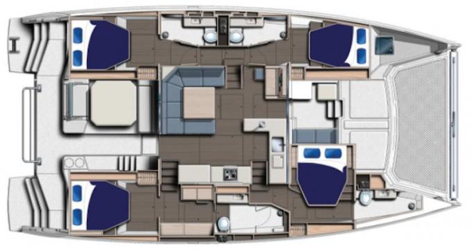 Verhuur Catamaran in Road Town - Leopard Moorings 5000