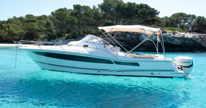 Verhuur Motorboot in Cala'n Bosch - Jeanneau Cap Camarat 925 WA