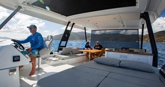 Verhuur Catamaran in Tortola - Fountaine Pajot My 44