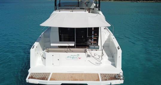 Verhuur Catamaran in Tortola - Fountaine Pajot My 37