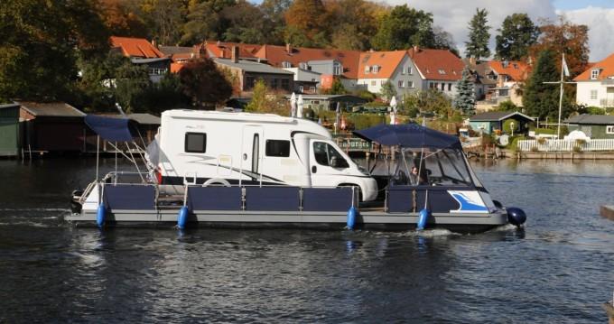 Verhuur Woonboot in Jabel - Technus Trimaran-Schwimmplattform