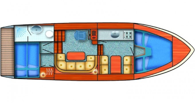 Jachthuur in Groß Kreutz - Hollandia 1000S via SamBoat